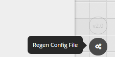 ScreenBloom Regen Config Button