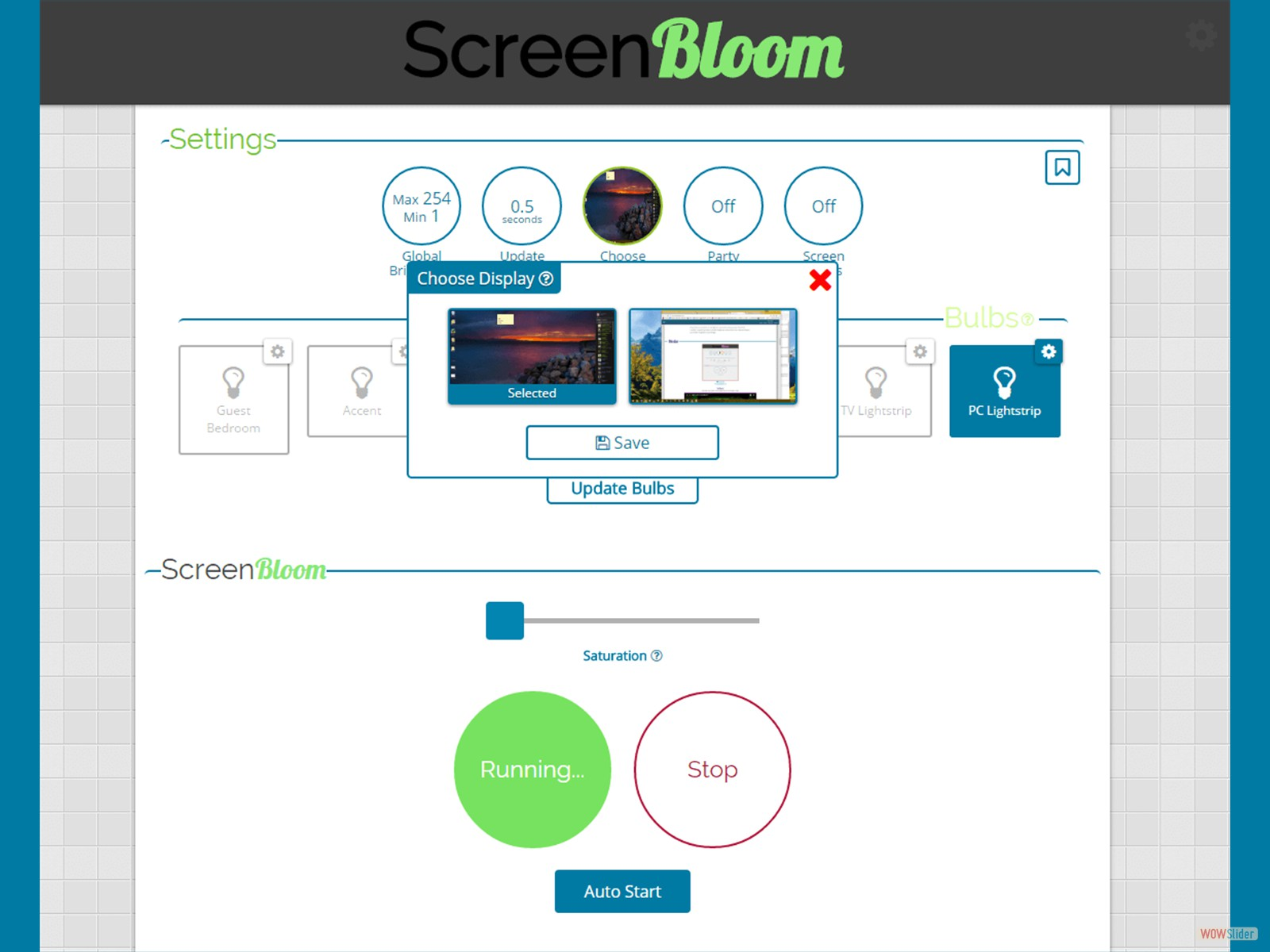 ScreenBloom